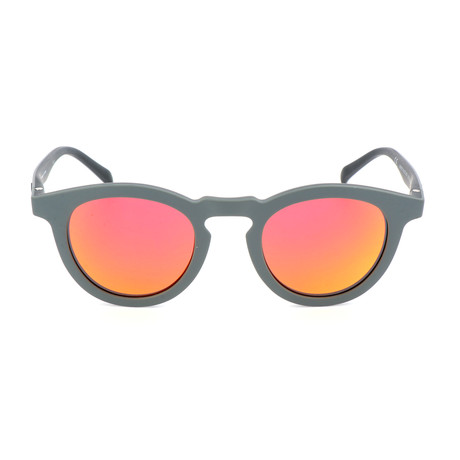 Unisex AOR017 Sunglasses // Gray + Red Orange