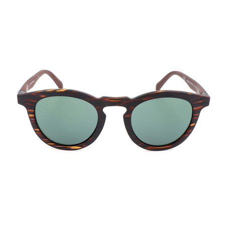 Unisex AOR017 Sunglasses // Brown + Green