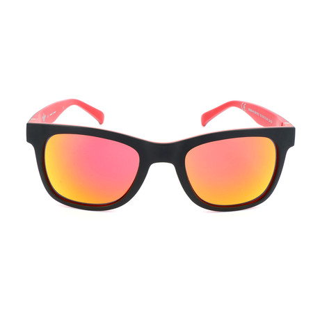 Unisex AOR004 Sunglasses // Black + Red