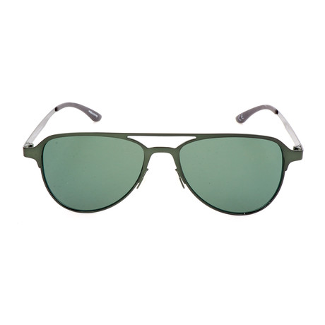 Men's AOM005 Sunglasses // Glossy Army Green