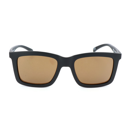 Men's AOR015 Sunglasses // Black + Brown