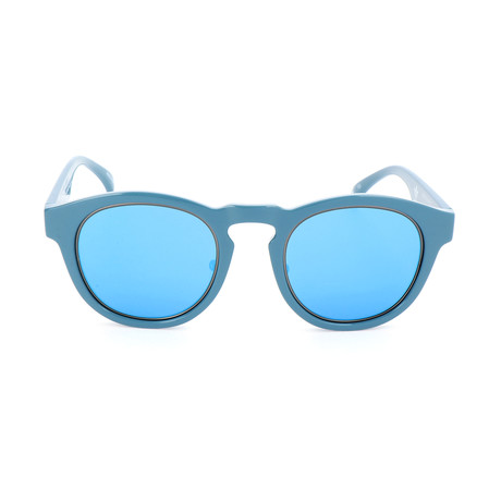 Unisex AORP004 Take Down Sunglasses // Glossy Light Blue