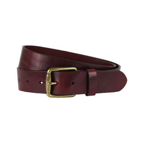 """Maroon Belt // Maroon (Size 38"""")"""