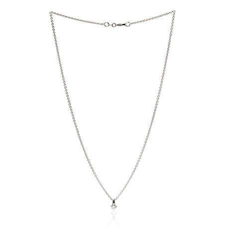 Crivelli 18k White Gold Diamond Necklace