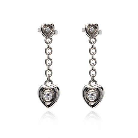 Crivelli 18k White Gold Diamond Earrings VIII