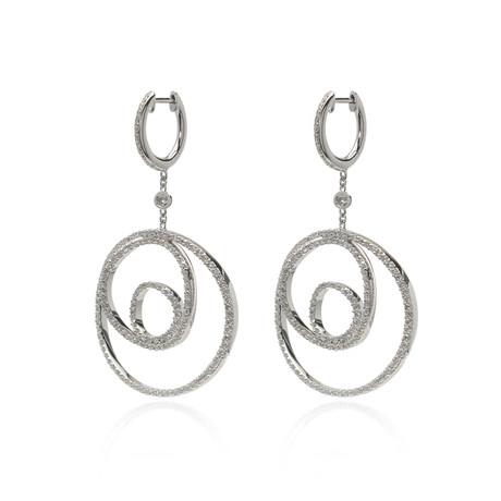 Crivelli 18k White Gold Diamond Earrings III