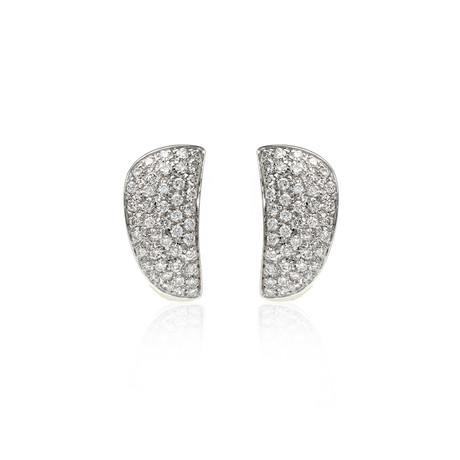 Crivelli 18k White Gold Diamond Earrings VI