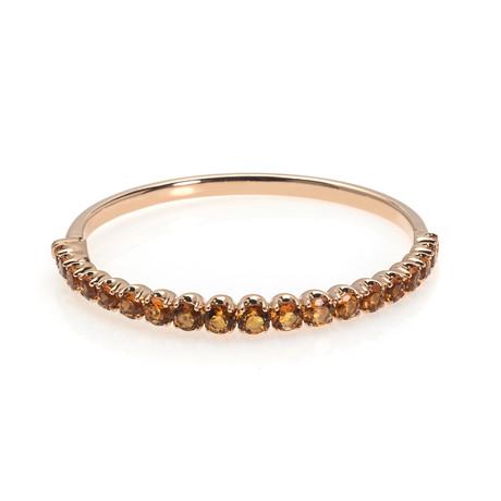 Crivelli 18k Yellow Gold Citrine Bracelet