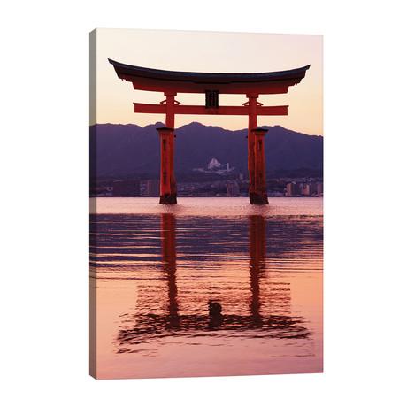 Sunset Of Torii Gate In Miyajima II // Philippe Hugonnard