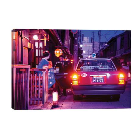 """Geisha Taxi // Philippe Hugonnard (40""""W x 26""""H x 1.5""""D)"""