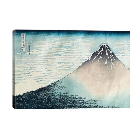 Fine Wind, Clear Morning (Red Fuji) c.1830-32 (Musee Guimet) // Katsushika Hokusai