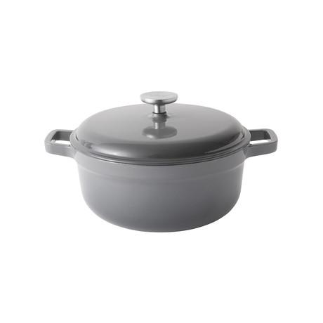 Gem // Cast Iron Casserole // Gray (4.6 Qt)