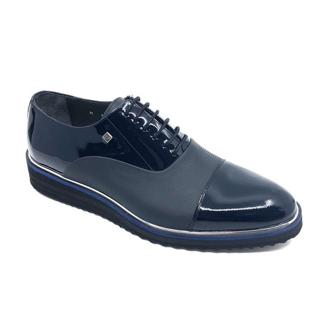 Dean Shoes // Navy Blue (Euro: 37)