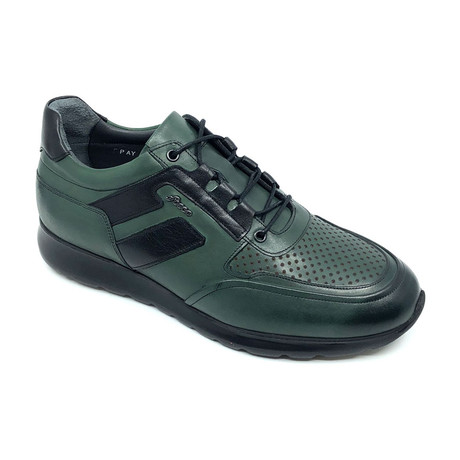 Kane Sneakers // Green + Black (Euro: 39)