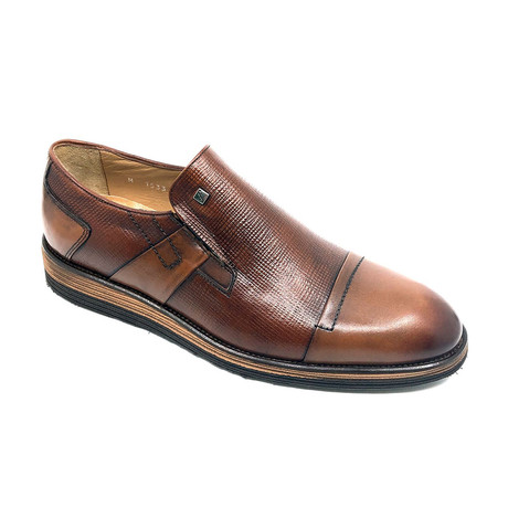 Hugo Slip On Shoes // Tobacco (Euro: 39)