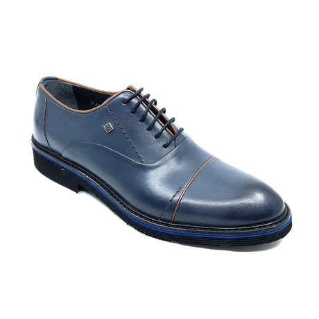 Raf Classic Derby Shoes // Navy Blue (Euro: 39)