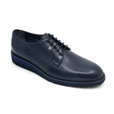 Myer Derby Shoes // Navy Blue (Euro: 39)