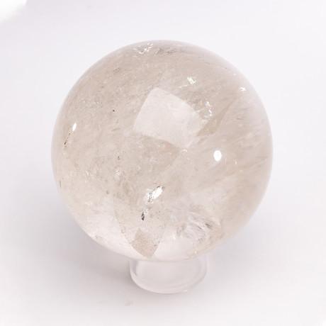 Brazilian Clear Quartz Sphere // Ver. II