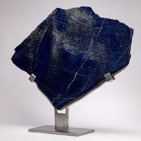 Lapis Lazuli Slab + aluminum stand