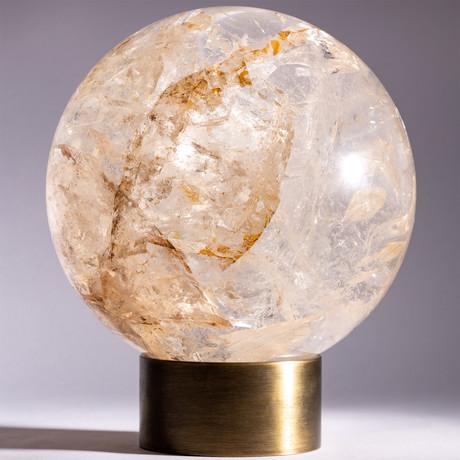 Brazilian Clear Quartz Sphere // Ver. I