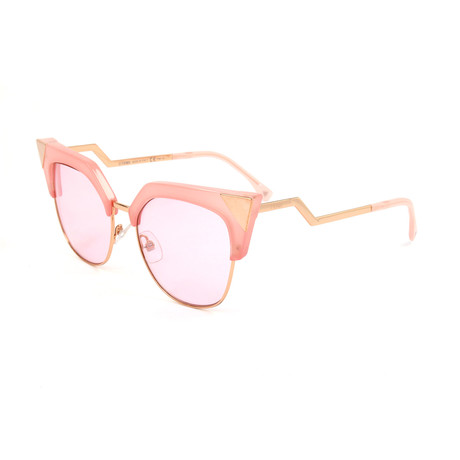 Women's 0149 Cat Eye Sunglasses // Pink