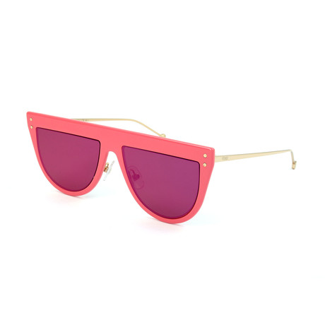 Women's 0372 Sunglasses // Dark Pink