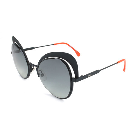 Women's 0247 Sunglasses // Black + Gray