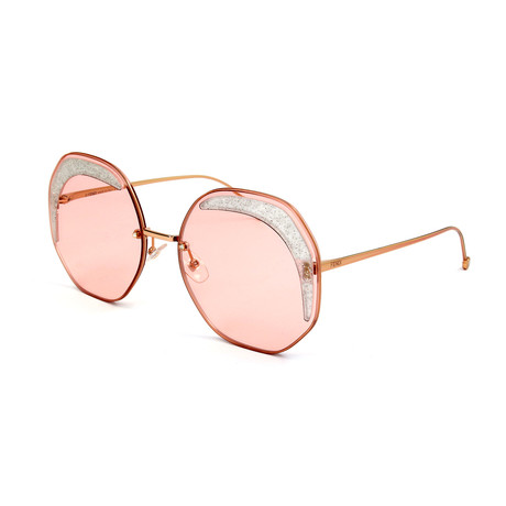 Women's 0358 Sunglasses // Coral