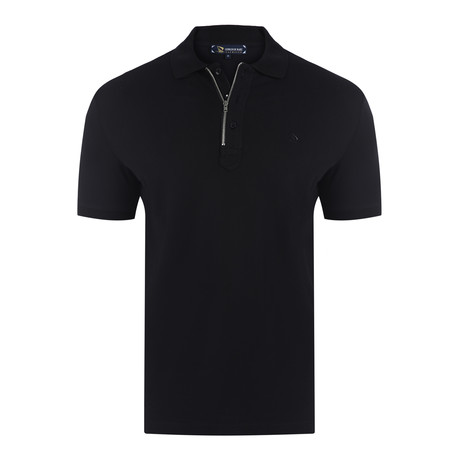 Oscar Short Sleeve Polo Shirt // Black (S)