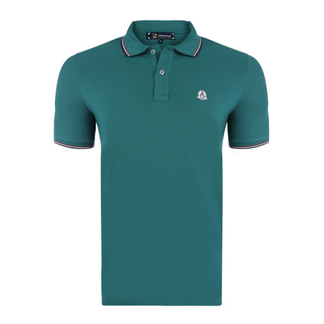 Frederick Short Sleeve Polo Shirt // Green (S)