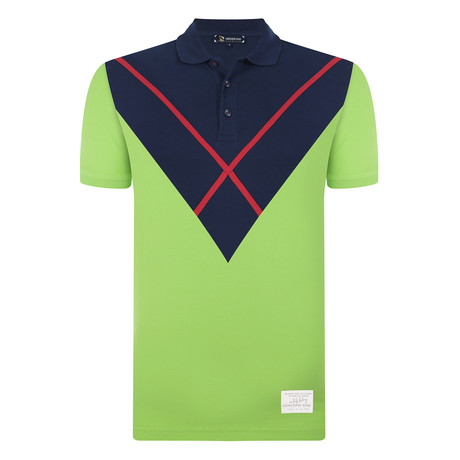 Walter Short Sleeve Polo Shirt // Neon Green (S)