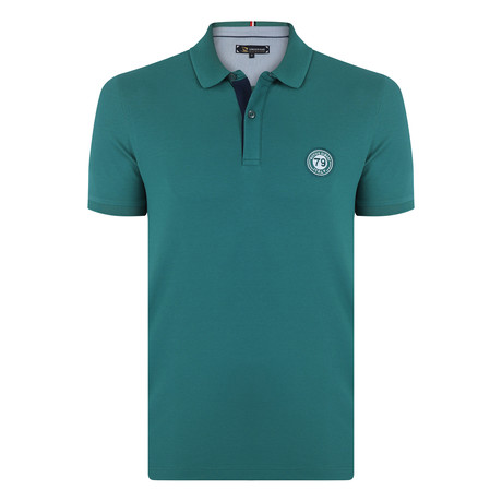 Daniel Short Sleeve Polo Shirt // Green (S)