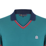 Jesse Short Sleeve Polo Shirt // Green (L)