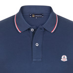 Thomas Short Sleeve Polo Shirt // Navy (S)