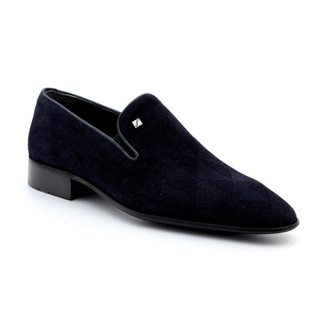 Sutton Loafers // Navy Blue (Euro: 39)