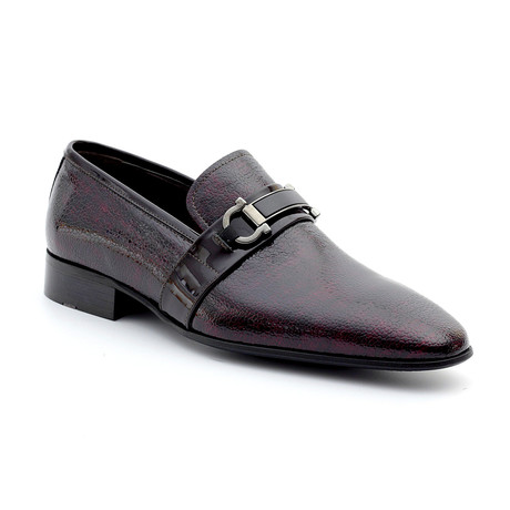 Vincent Loafers // Claret Red (Euro: 39)