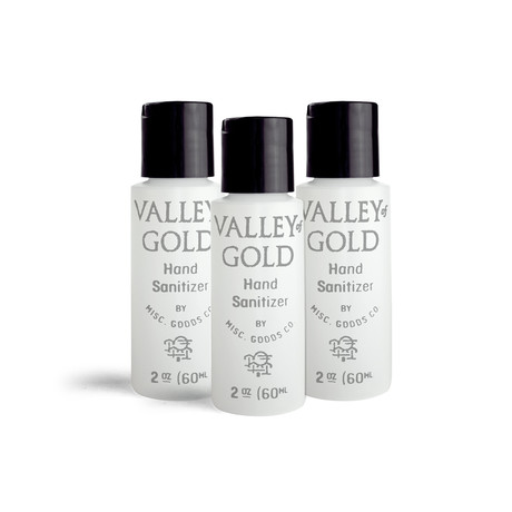 Valley of Gold Hand Sanitizer // 2 oz // 3 Pack