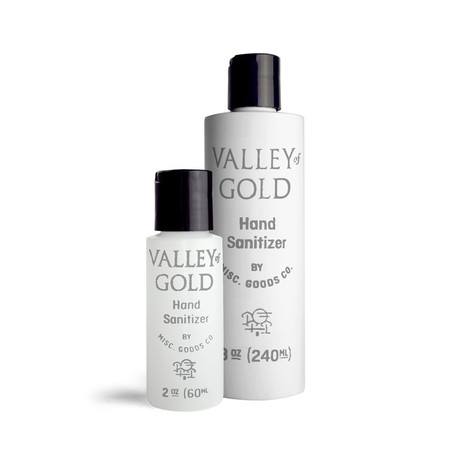 Valley of Gold Hand Sanitizer // 8 oz + 2 oz // 2 Pack