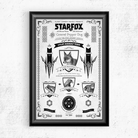 "Starfox // Vintage Advertisement (11""W x 17""H)"