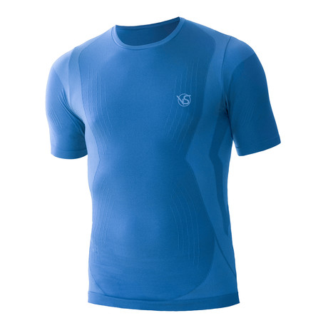 VivaSport // 5 Short Sleeve T-Shirt // Light Blue (S/M)