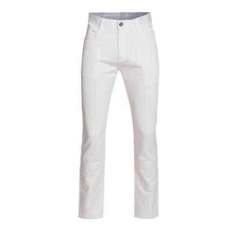 Slim Quality Pants // White (28WX30L)