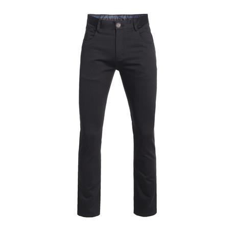Slim Quality Pants // Black (28WX30L)