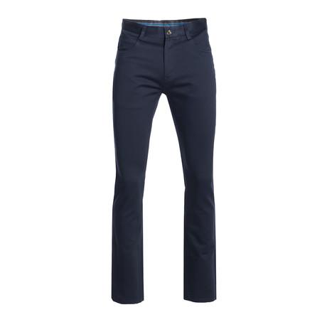 Slim Quality Pants // Navy (28WX30L)