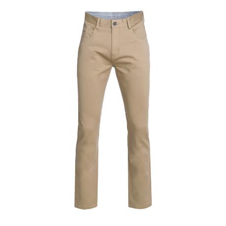 Slim Quality Pants // Khaki (28WX30L)