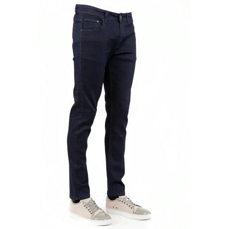 714 Skinny Jeans // Denim Blue (28WX30L)