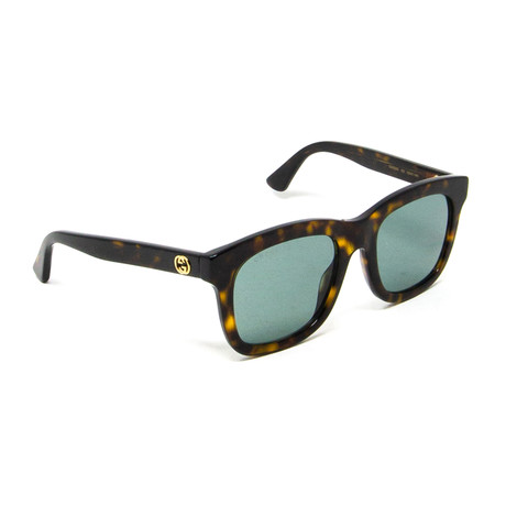 Women's Square Sunglasses // Tortoise