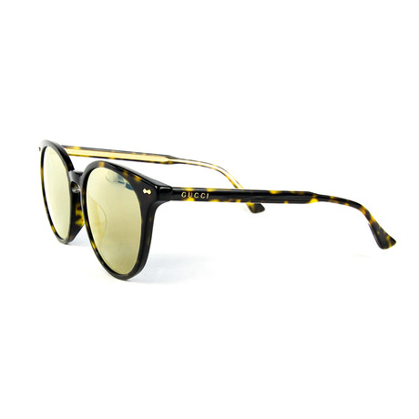 Women's Round Sunglasses // Tortoise