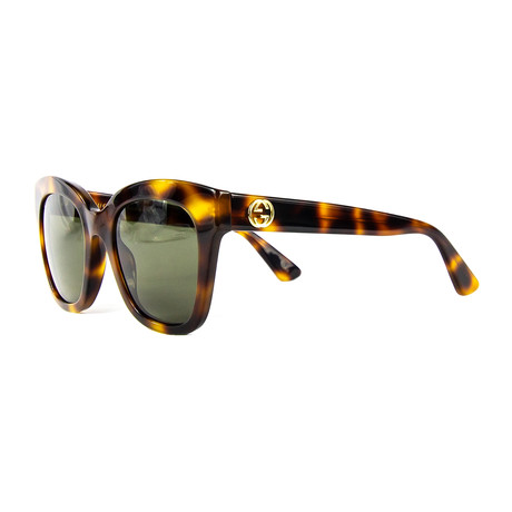 Women's Cat Eye Sunglasses // Tortoise + Brown