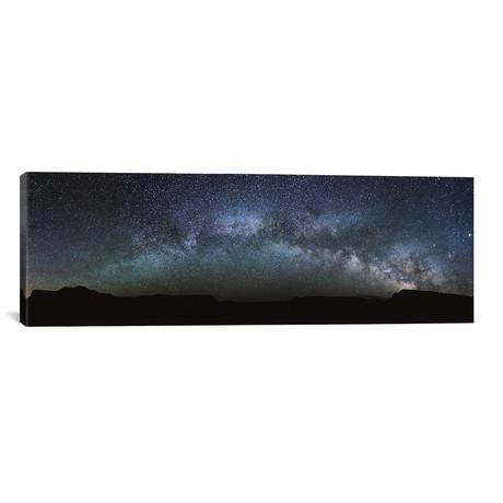 "Milky Way Panoramic // Matteo Colombo (60""W x 20""H x 0.75""D)"