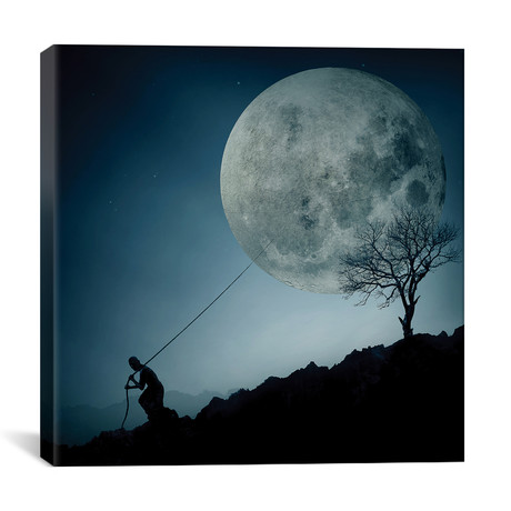 "The Dreamer // Final Toto (26""W x 26""H x 1.5""D)"